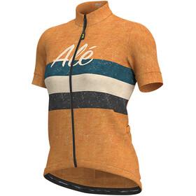 Alé Cycling Classic Epica Koszulka z krótkim rękawem Kobiety, orange